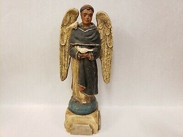 Bethany Lowe St Francis of Assisi Santos Collection Man Angel Birds Figu... - $123.74