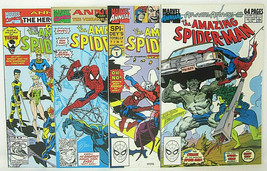 Marvel Amazing Spiderman Comics Annuals #23, 24, 25, 26 Venom Solo Story 9.2 NM- - $23.36