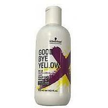 Schwarzkopf Goodbye Yellow 10 oz - $25.73