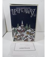 Animated Reindeer and Sleigh UP, UP & Away Department 56 - $222.20