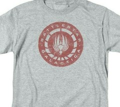 Battlestar Galactica Retro 70s 80s Sci-fi TV series graphic t-shirt BSG291 image 2