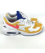 Nike Air Max 2 Light Shoes University Gold Flash Crimson Size 8.5 AO1741... - $89.35