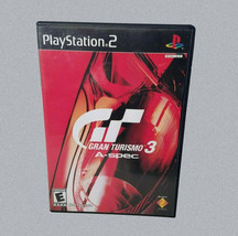 Gran Turismo 3 A-Spec PS2 Video Game 2001 Marked Not For Sale Rated E - $8.99
