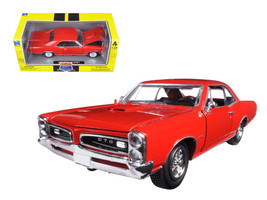 1966 Pontiac GTO Red Muscle Car Collection 1/25 Diecast Model Car by New Ray - $33.59