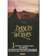 Dances with Wolves (VHS, 1993)~#8768~Kevin Costner~Closed Captioned~FREE SHIP - $19.99