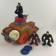 Imaginext Castle Battering Ram Sound Effects 7pc Lot Punch Toy Fisher Price - $24.70