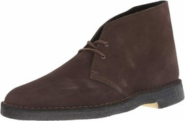 NEW CLARKS ORIGINALS DESERT SUEDE BOOT BROWN MENS SIZE 11 (261 07879) - $198.00