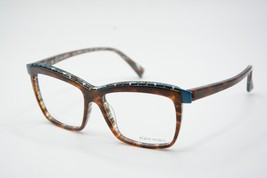 New Alain Mikli A 02018 4251 Brown Eyeglasses Authentic Rx A02018 54-15 W/CASE - $96.33