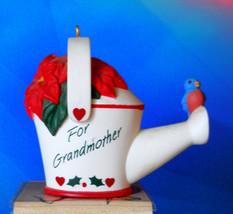 Hallmark Keepsake Christmas Ornament 1995 Grandmother Watering Can Poins... - $9.86