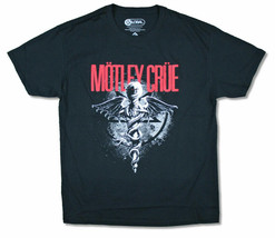 Motley Crue-Dr Feelgood-Black T-shirt - $22.99