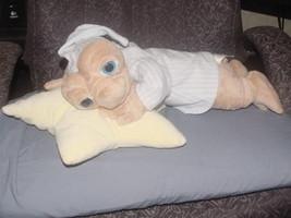 "21"" Bedtime E. T. Extra Terrestrial Plush Star Shape Pillow Universal Studios - $74.24"