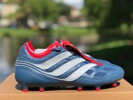 Adidas Predator Precision Fg - Blue Grey/White/Red Limited Edition, Size 9 - $460.00