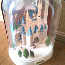 TDL Big Cinderella Castle Automaton clock Glockenspiel Sleeping Beauty's... - $593.01