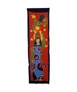 PAGAN/SPIRITUAL Star Goddess BATIK Drop Banner/wall hanging.188x54cm - $43.80