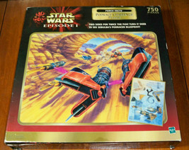 "Star Wars-  Episode1 Force Facts ""Podrace Challenge"" Puzzle - $19.95"