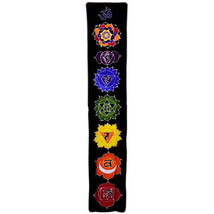 PAGAN/SPIRITUAL MIDNIGHT BATIK Drop Banner/wall hanging.183x35cm - $43.80