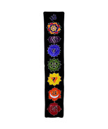 PAGAN/SPIRITUAL MIDNIGHT BATIK Drop Banner/wall hanging.183x35cm - $43.80