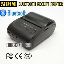 58mm Portable Mini Wireless Bluetooth Android Mobile Thermal Receipt Pri... - $74.08