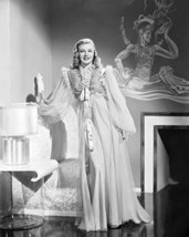 Ginger Rogers In Shall We Dance Flowing Night Gown Pose By Chair 16X20 Canvas Gi - $69.99