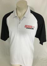 IZOD PerformX Collared Tech Shirt Indy Car Series Honda White & Black Me... - $29.99