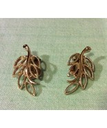 Emmons Branch Clip On Earrings Vintage - $5.89