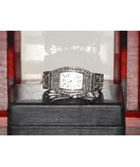 Pre-Owned Women's Silver Fancy Rhinestone Fashi... - $8.91