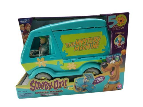 Scooby-Doo The Mystery Machine Playset 50 Years Walmart Exclusive Fred Figure - $49.99