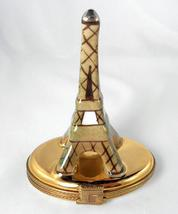 Limoges Box -  Eiffel Tower - Paris France - Arc de Triomphe - Peint Main  - $95.00