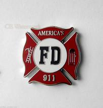 SEPTEMBER 11 MEMORIAL FIRE DEPARTMENT 911 PIN BADGE 1 INCH - $4.46