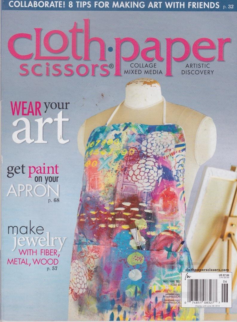 Cloth Paper Scissors: Wear Your Art Stampington Magazine