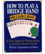 How To Play A Bridge Hand, Root, William S.  Soft Cover Book - $10.99