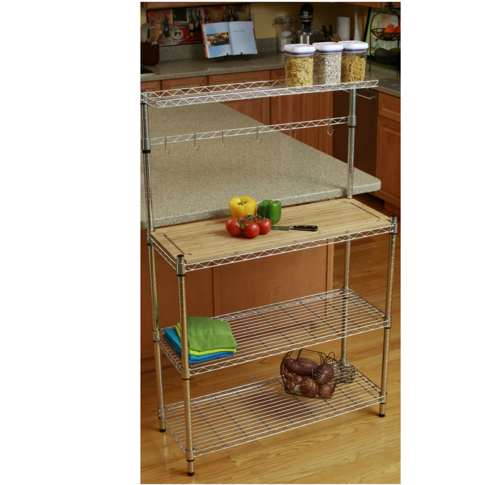 Bakers Rack Kitchen Storage Shelves And And 50 Similar Items