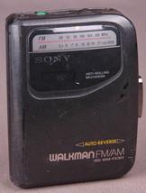 Vtg Sony Walkman WM-FX301-Cassette Player/Radio-Auto Reverse-Anti Rollin... - $23.36