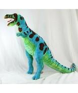 "Melissa & Doug Jumbo Dinosaur T-Rex Green and Blue Plush 26"" #2149 Stuff... - $19.99"