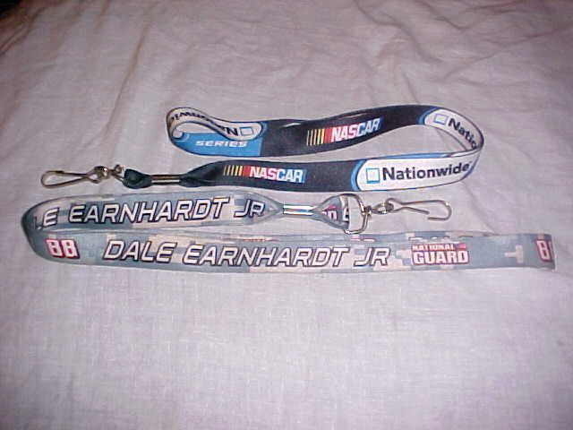 Primary image for 2 NASCAR LAYNARDS - DALE EARNHARDT JR AND NATIONWIDE ONE