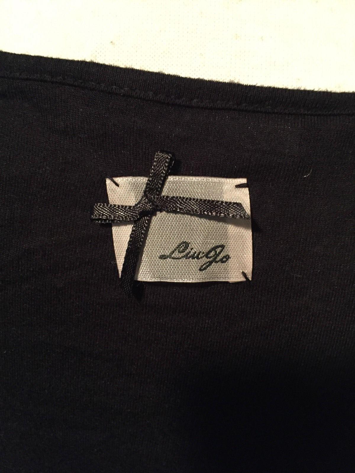 Liu Jo Lightweight Long Sleeve Blouse Black Size 46