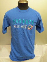 Retro Toronto Blue Jays Shirt - Stitched in Graphics - Pro Look - Men's Large - $65.33