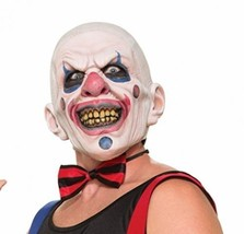 Forum Novelties Men's Twisted Clown Latex Mask, Multi, One Size - $25.87