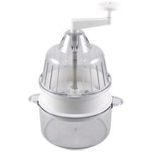 6-PACK Saladacco Spiral Slicer Garnishing Machine~Clear / White, Samson ... - $107.95