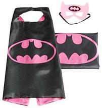 (Batgirl) ROXX Cape And Mask Costume For Child Superhero Superman Kids ... - $16.20