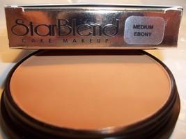 Mehron Star Blend Cake Pancake Water Base Stage Makeup Dark Shades Professional - $11.49