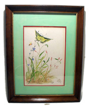 Watercolor Vintage Painting Signed by Artist Lillian Wilson  - $16.00