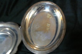 Unbranded Silverplate Three Serving Dishes 2 Oval 1 Round - $29.69