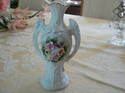 Vintage Lefton China Hand Painted Vase And 50 Similar Items