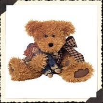 "Boyds Bears ""Rusty & Scardycrow""- 14"" Plush Bear-#912642-  New -2002 -Retired - $29.99"