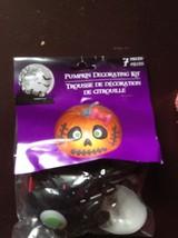 pumpkin decorating kit 7 pcs girl monster pink bow nip cute - £4.44 GBP