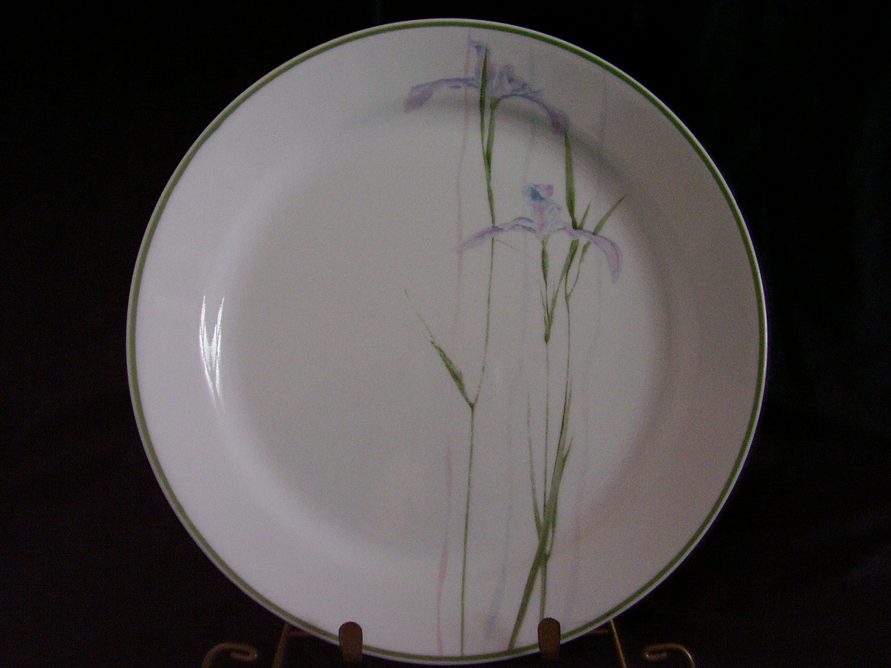 Corelle Shadow Iris Dinner Plate