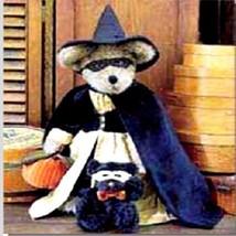 "Boyds Bears ""Tabitha J. Spellbinder"" 16"" Uptown Bear- #90021- New-1999 - $59.99"