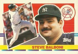 1990 Topps Big #160 Steve Balboni - $0.50