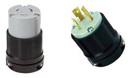 OCSParts L6-20Pc NEMA L6-20 Plug and Connector Set - Rated for 20A, 250V... - $18.99